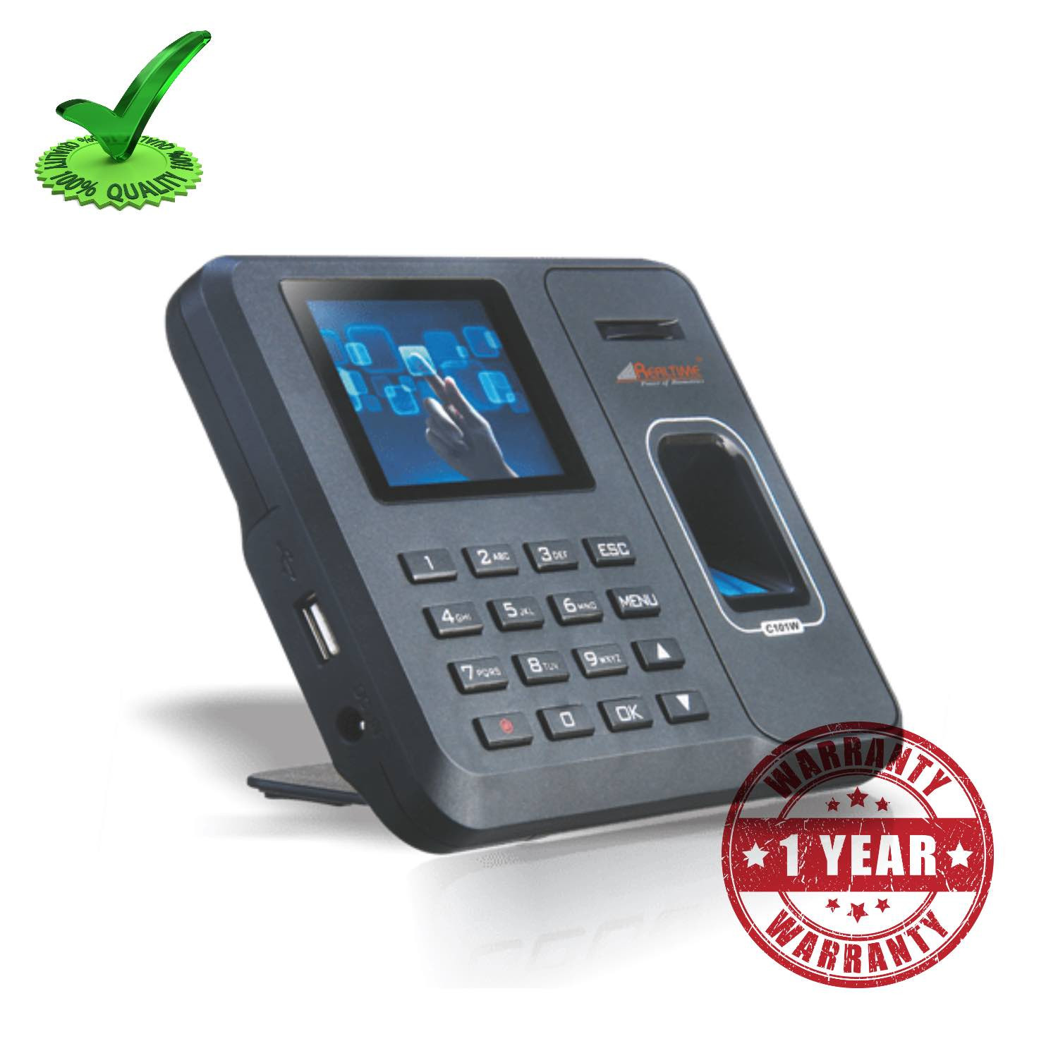 Realtime C101W Finger Print WiFi Time Attendance Systems