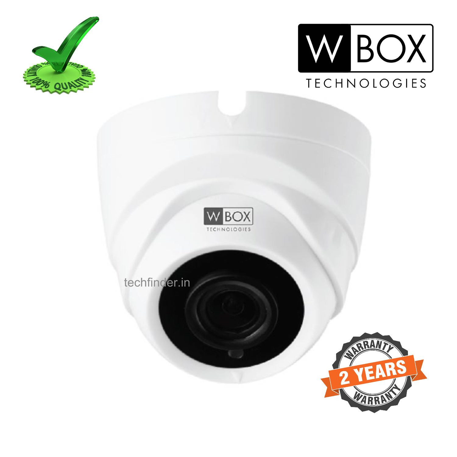 W Box WBC0E-CLHD5R2FPLE AHD 5mp Body IR HD Dome Camera