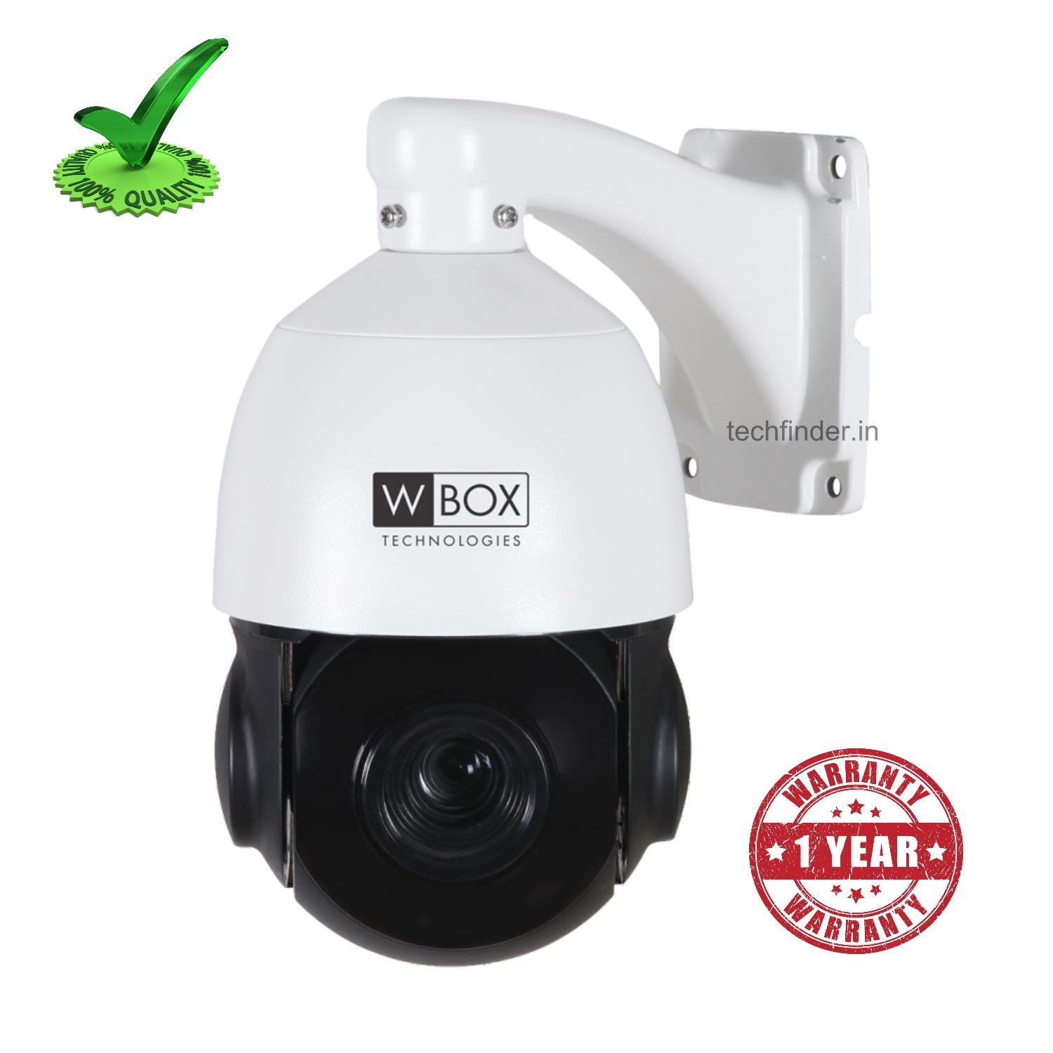W Box WBC0E-CLISD2R6022 PTZ 22x 2MP IP IR outdoor Speed Dome Camera