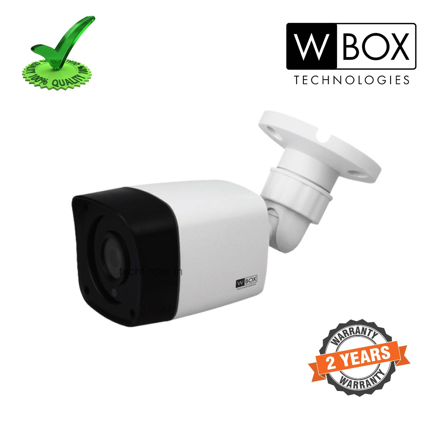 W Box WBC0E-CLHB5R2FPLE HD 5mp Body IR Bullet Camera