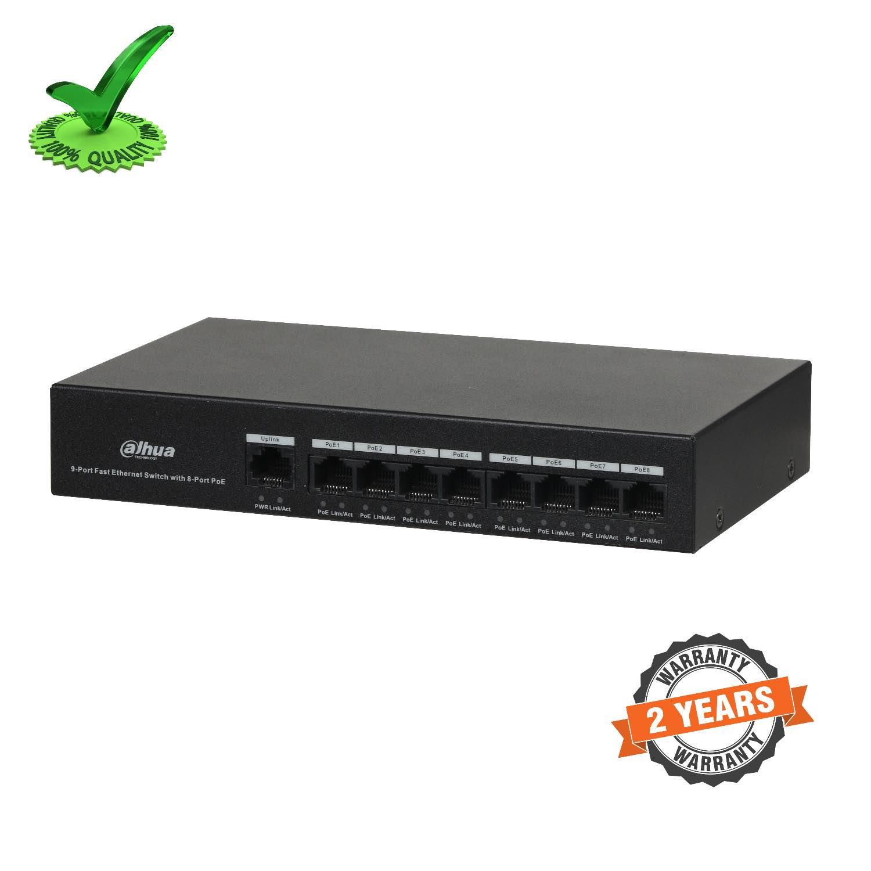 Dahua DH-PFS3009-8ET-65 8-Port PoE Switch