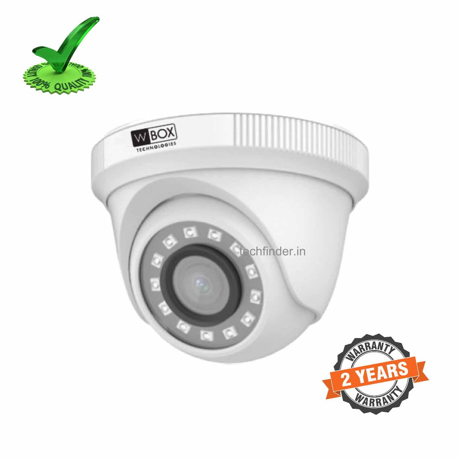 W Box WBC0ECVHD2R2FPN 2mp 1080p HD IR Dome Camera
