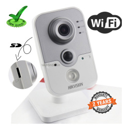 Hikvision DS-2CD2442FWD-IW 4mp WDR Wi-Fi Network Cube Ir Camera